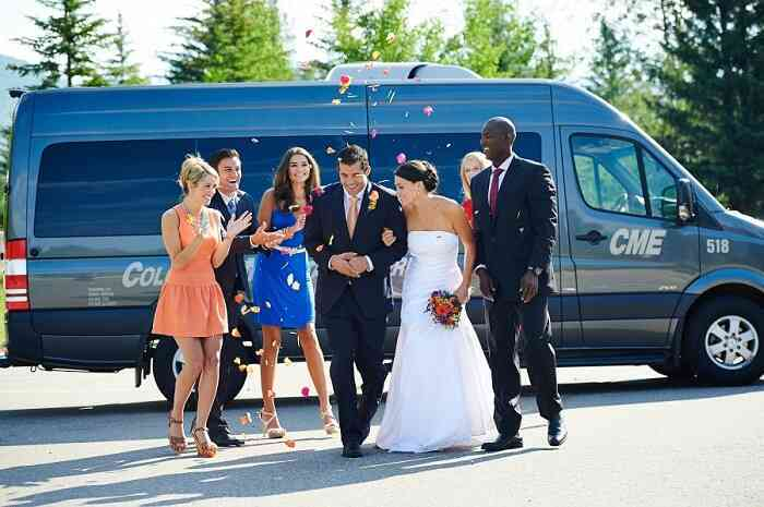 Wedding packages - 12 and 15 Passenger Vans